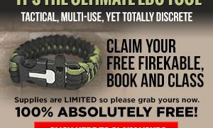 Firekable Paracord Bracelet Review – The Not So Free Bracelet