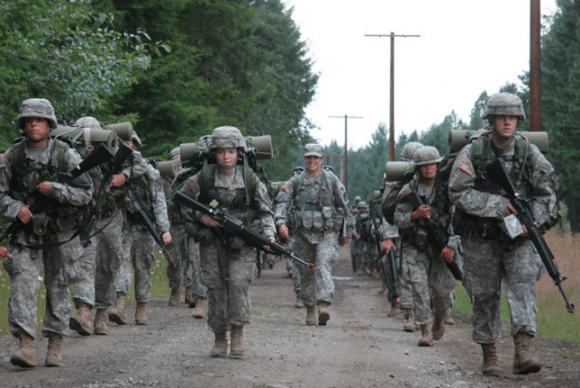 how to survive your very first army ruck march